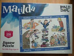 Roald Dahl Matilda 250pc Jigsaw Puzzle Age 6 plus Quentin Blake Drawings