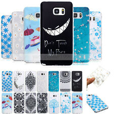 -BF3 Pattern Skid Soft TPU Case Cover For Samsung Galaxy Note 3 4 5 A3 G360 G530