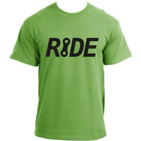 RIDE a bike - Bicycle tee Cycling sports top Cotton Short Sleeve T shirt