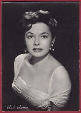 RUTH ROMAN 06b ATTRICE ACTRESS CINEMA MOVIE STAR PEOPLE Cartolina FOTOGRAFICA