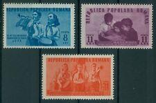 Rumänien 1950 Mi.1226-28 ** Jungpioniere,Pioniere,Uniform,Trompete,Musik