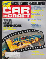 Car Craft Magazine Rick Voegelin  February 1975  FREE US S/H