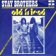 7inch STAY BROTHERS old friend HOLLAND  NEGRAM 1976  MEMBER THE SHOES  (S1653)