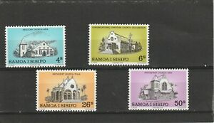 Samoa 1979 Christmas Churches Set MNH