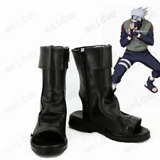 Hatake Kakashi Cosplay Naruto Shoes Boots Japanese Anime Custom-made High-Q Hot