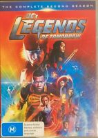 DC's Legends Of Tomorrow : Season 2 (DVD, 2017, 4-Disc Set) BRAND NEW