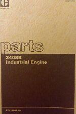CAT 3408B Caterpillar Industrial Diesel Engine Parts Manual