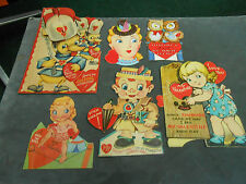 6 Moving 1940'S & 50'S Valentine'S Day Cards