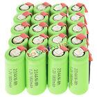 20 pc 2/3AA 1.2V 1800mAh Ni-MH ricaricabile batteria