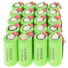 20 pcs 2/3AA 1.2V 1800mAh Ni-MH rechargeable battery