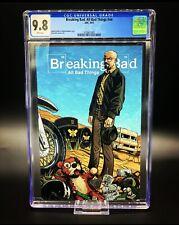Breaking Bad All Bad Things #nn Comic Book CGC 9.8  RARE BOOK! NM🚨🚨🚨