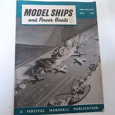 Livres maquettes de bateaux et Power Bateaux, mai 1953