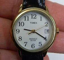 Timex WR30M Easy Reader Women's Wrist Watch FLAWED