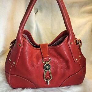Authentic Fair Condition Dooney & Bourke Red Purse Handbag