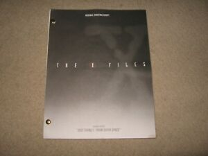 The X Files: Jose Chung's From Outer Space Script