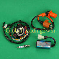 Magneto Stator CDI Box Ignition Coil For GY6 50cc - 150cc Scooter ATV