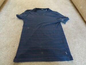 ONLY & SONS - MEN'S DARK BLUE T-SHIRT (SIZE SMALL / S)