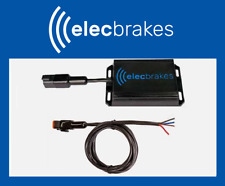 ELECBRAKES ELECTRIC BLUETOOTH BRAKE CONTROLLER + LEADER CABLE, CARAVAN CAMPER