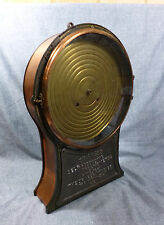 Antique Draper Self- Recording Thermometer Pat'd 1887 w/Seth Thomas Clock Works