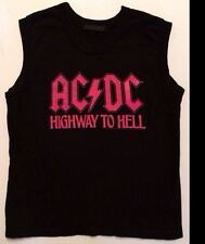 Urban Outfitters Chaser Junior's AC/DC Highway to Hell Rock Shirt Size Large