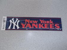 """NEW YORK YANKEES"" BUMPER STICKER"