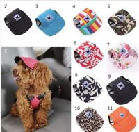 Dog Baseball Cap Outdoor Pet Sun Hat Summer Canvas Visor Puppy - Size Sm - XL