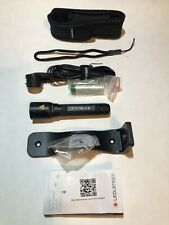 LED Lenser P5R Rechargeable LED Flashlight, Adjustable beam Pocket light