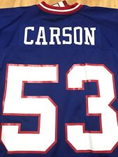 """Harry Carson New York Giants Mitchell & Ness """"1986"""" Spider Patch NFL Jersey  NWT"""
