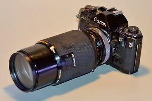 Canon A-1 vintage 35mm film camera