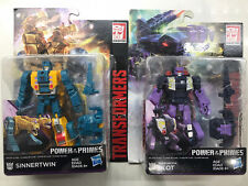 Transformers Power Of The Primes Lot Of 2 Sinnertwin & Terrorcon Blot New H