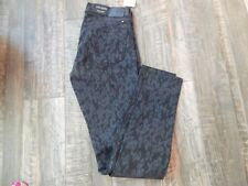NEW Women's Lucky Brand Charlie Skinny Low Rise Slim Fit Leopard Print 2/26 NWT
