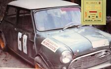 DECAL CALCA 1/43 MINI COOPER 1300 J. BABLER SUBIDA SANT CUGAT - TIBIDABO 1968