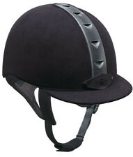 NEW IRH ATH Riding Helmet Black w Gunmetal - Discontiue Super Sale SIZE 7