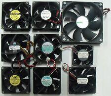 Stock di 9 Ventole - Ventola a 12V; 24V; 38V - Ricondizionate e collaudate