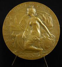 Médaille 1906 concours de façade rue Réaumur N°118 Paris Albert Sauton allégorie