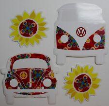 VW volkswagen bug van beetle Car Window Sticker Decal Vinyl rear gear peace love