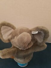 PHONAK HEARING AID OLIVER THE ELEPHANT PUPPET HEARING LOSS BOOK PLUSH FIGURE