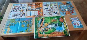 6 x Micky Maus - Poster (Ehapa-Verlag) - Zust.: gut