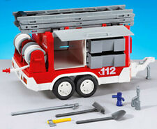 Playmobil Add On #7485 Fire Trailer! -New-Factory Sealed