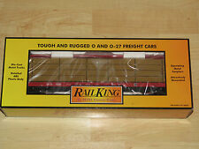 MTH Rail King O Scale Canadian Pacific Center I-Beam Flat Car W/Lumber NIB