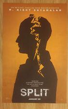 Mini Movie Poster Promo Split M. Night Shyamalan