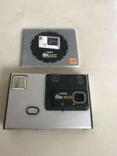 VINTAGE 1982 Kodak Disc 4000 fotocamera, con istruzioni