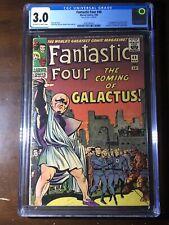 Fantastic Four #48 (1966) - 1st Silver Surfer! Galactus Cameo! - CGC 3.0 - Key!