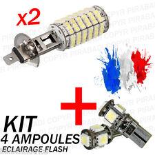 ► KIT 4 AMPOULE XENON ║  2x H1 + 2x LED T10 ║ PACK KIT VW GOLF 6 TDI I FSI