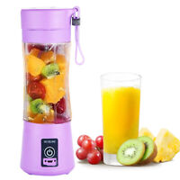 380ml Portable USB Electric Fruit Juicer Smoothie Maker Blender Shaker Bottle