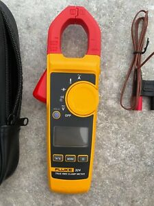 Fluke 324 40/400A AC, 600V AC/DC  Clamp Meter, Unused In Perfect Condition