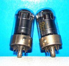 7C7 loctal vacuum tubes 2 valves Philco transoceanic radio amplifier tested 7C7