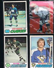 1977/1978 O-Pee-Chee Bob Paradise #203 Penguins
