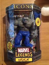 "Marvel Legends Icons Grey Variant Hulk 12"" Action Figure,  MIB Factory Sealed"