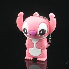 16GB Cartoon Figure Pink Stitch USB Flash Drive Memory Stick Pen Drive +Gift Box